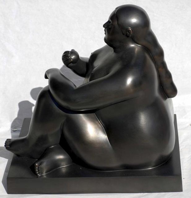 , 'Donna Seduta con Mela (Woman Sitting With Apple),' 2011, Rosenbaum Contemporary