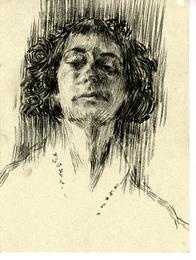 Woman Head Study #27