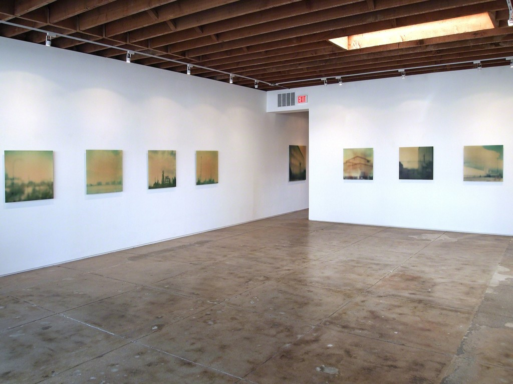 Susan Mikula Installation, George Lawson Gallery Los Angeles, 2011