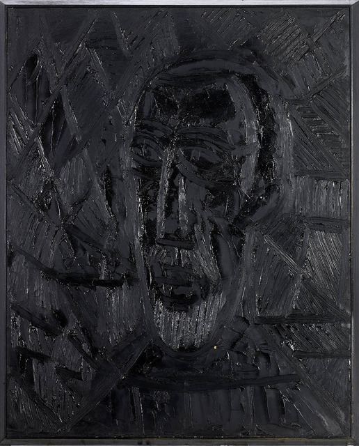 , 'Head of a man,' 1965, Grosvenor Gallery