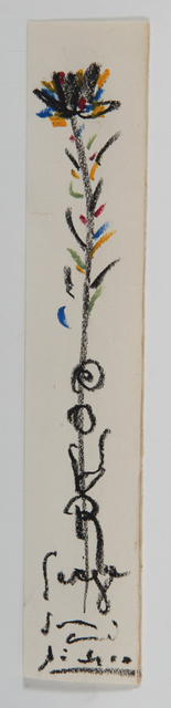 Pablo Picasso, 'Fleur', Unknown, HELENE BAILLY GALLERY
