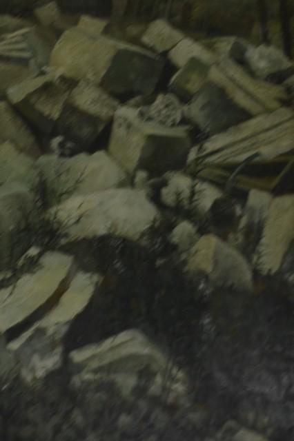 , 'Ruins Around St. Paul's,' 1948, Hong Kong Arts Centre