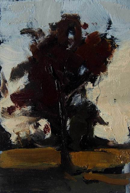 , 'Ballyglass tree in wind,' , Mall Galleries