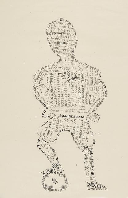 , 'Los héroes son anónimos,' 1984, Henrique Faria Fine Art