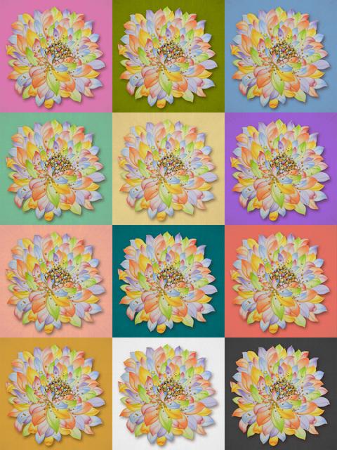Kate Oh, 'Lenticular Lotus Pop', 2019, Kate Oh Gallery