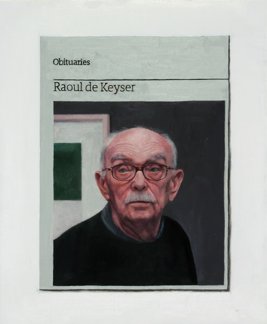 , 'Obituary: Raoul De Keyser,' 2015, Charlie Smith London