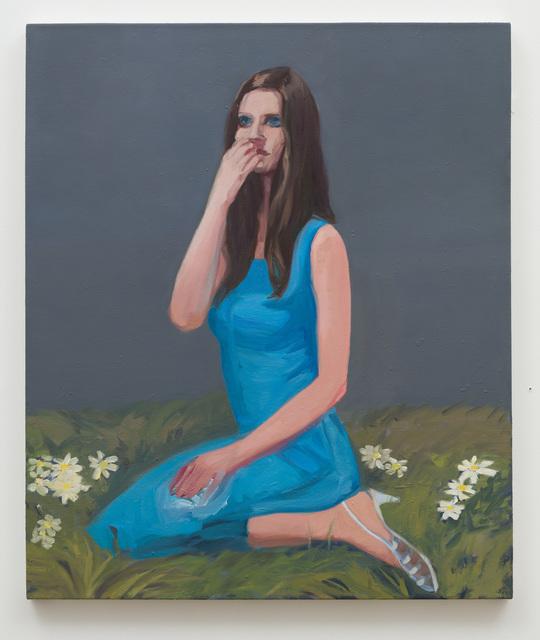 Janet Werner, 'Girl with Daisies', 2007-2018, Anat Ebgi