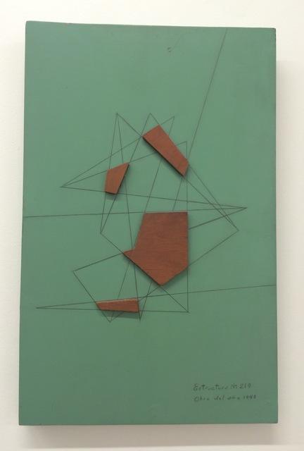 , 'Estructura N 219,' 1948, Leon Tovar Gallery