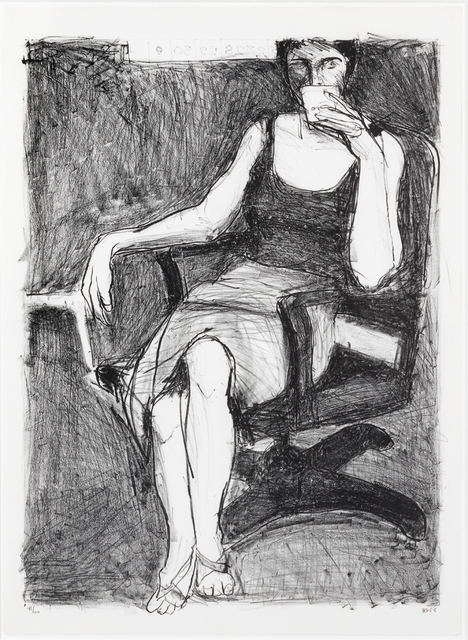 , 'Seated Woman Drinking from a Cup,' 1965, Susan Sheehan Gallery