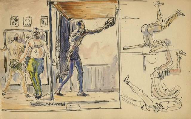 , 'Speed Bag and Variations on a Knockout,' 1929, Anthony's Fine Art