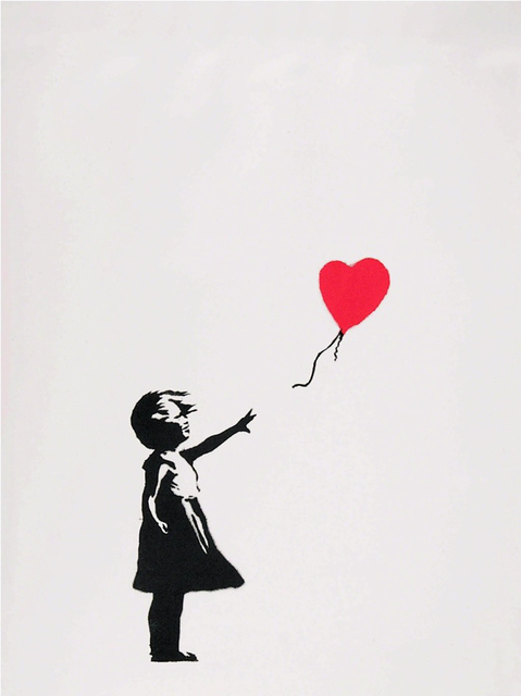Banksy, 'Girl With Balloon', 2004, Gormleys Fine Art
