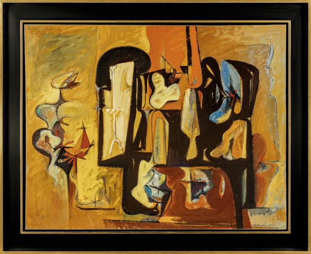 , 'Interior,' 1951, Vallarino Fine Art