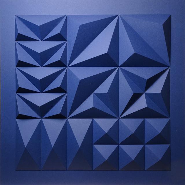 Matt Shlian, 'As Long As You Are Here (Dark Blue Backer)', 2019, Duran Mashaal