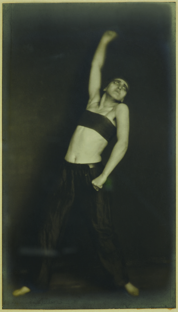 """, 'Jo Mihaly, danse """"Révolution"""",' 1925, Jeu de Paume"""