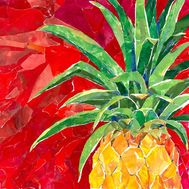 , 'Red Pineapple,' 2018, Tiffany's Art Agency
