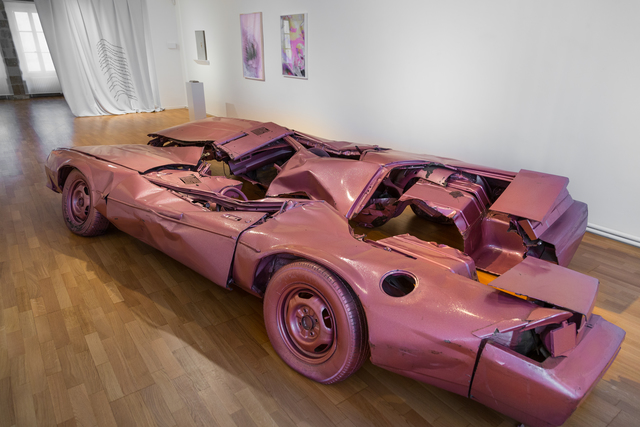 Sylvie Fleury, 'Skin Crime #5', 1999, Grob Gallery