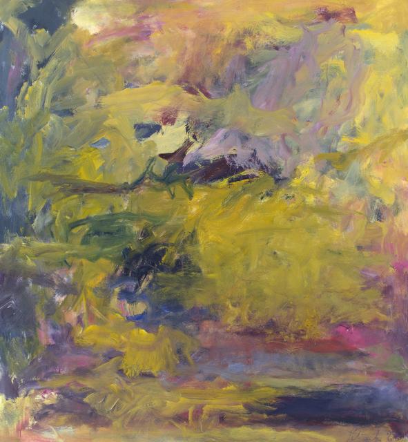 , 'Summer Sky: Loch Eishort (o/c 66-14),' 1966, Berry Campbell Gallery
