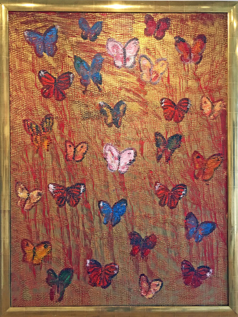 , 'Red Butterflies,' 2008, Madelyn Jordon Fine Art