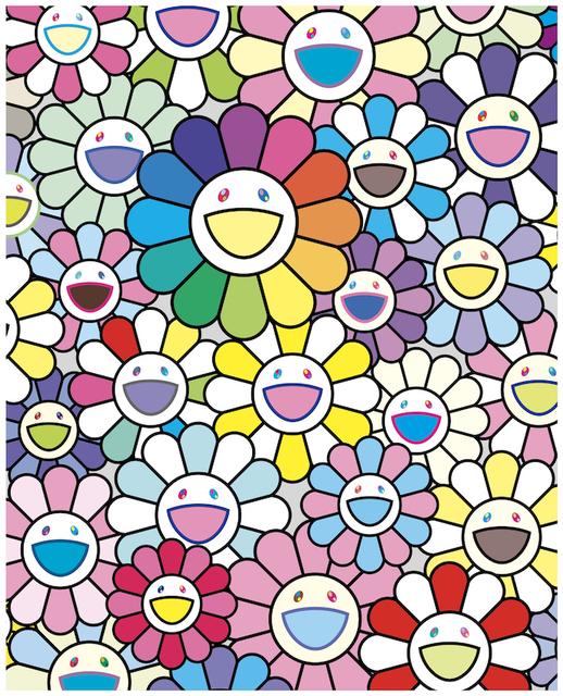 Takashi Murakami, 'FLOWERS OF HOPE', 2020, Print, Print, Dope! Gallery