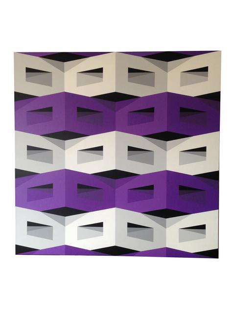 , 'Horizontal Violet,' 2016, Ranivilu Art Gallery