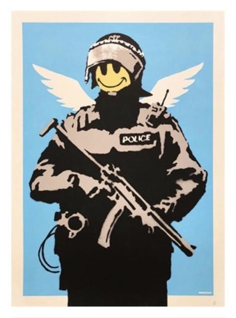 Banksy, 'Flying Copper', 2003, 5ART GALLERY