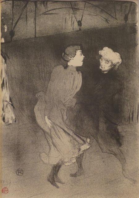 , 'Répétition générale aux Folies-Bergère,' 1893, Isselbacher Gallery