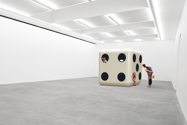 Carsten Höller, 'Dice (White Body, Black Dots),' 2014, Gagosian