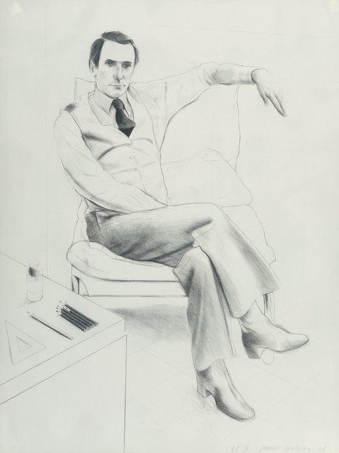 David Hockney, 'Nicholas Wilder, from Friends', 1976, Heritage Auctions