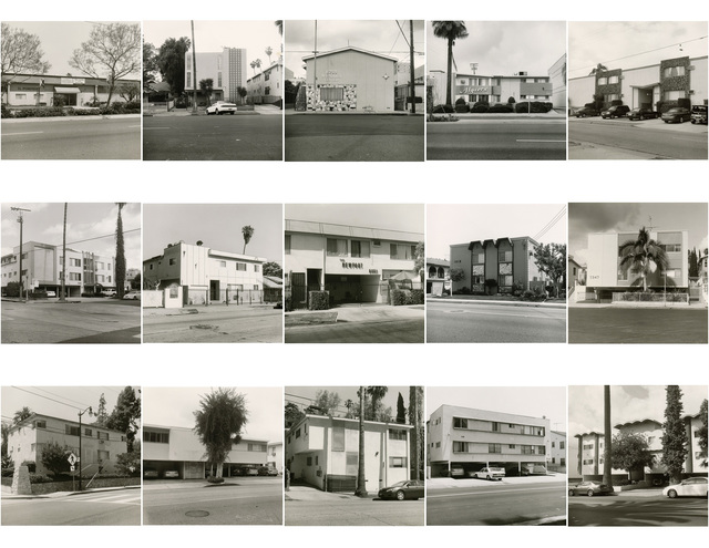 , 'We All Loved Ruscha (Fifteen Apartments),' 2012, Gallery Luisotti
