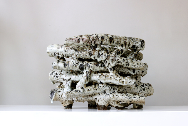 Jussi Ojala, 'Pile (Stapel)', 2016, Sculpture, Stoneware, Ash glaze, Berg Gallery