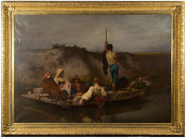 , 'La Mal'aria,' 1854, Anthony's Fine Art