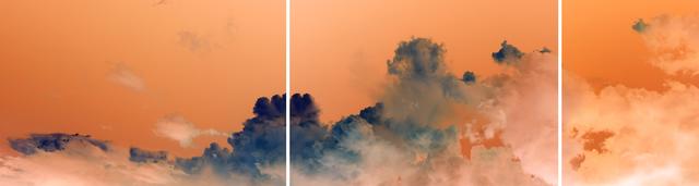 , 'Storm Cloud over Boston Harbor, Orange Sky 8:08pm,' , 555 Gallery