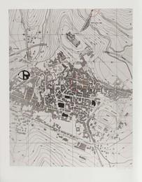 Pianta di Spoleto/Spoleto's map