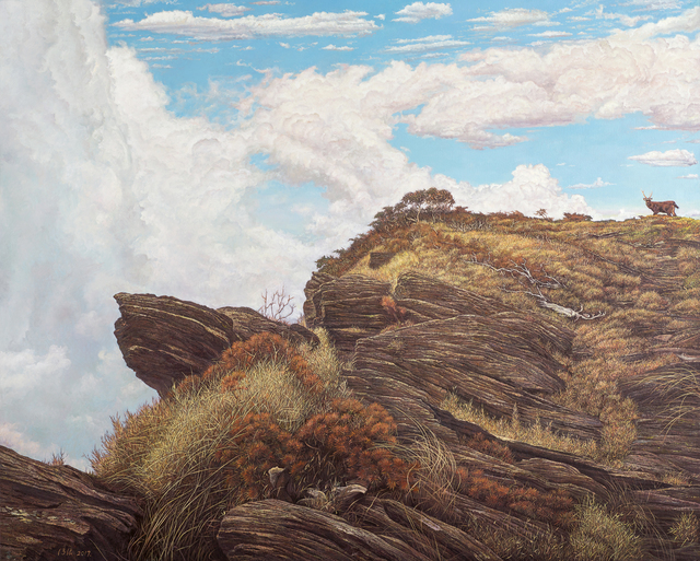 , 'A Legend in the Mountain,' 2017, Liang Gallery