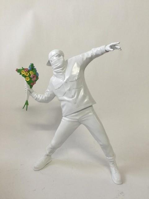 Banksy, 'Flower Bomber (White)', 2016, 5ART GALLERY