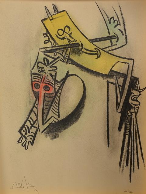 Wifredo Lam, ' Pleni Luna planche 10', 1974, Le Coin des Arts