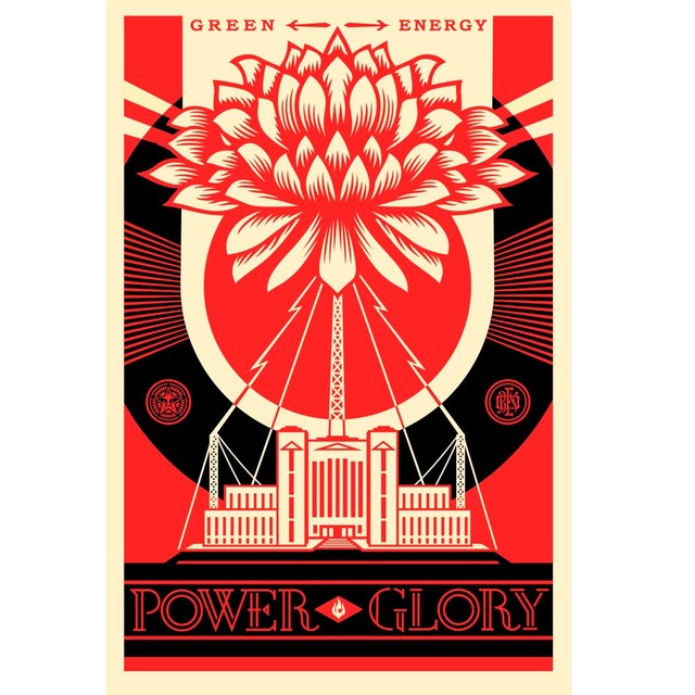 Shepard Fairey (OBEY), 'Power glory', 2017, NextStreet Gallery