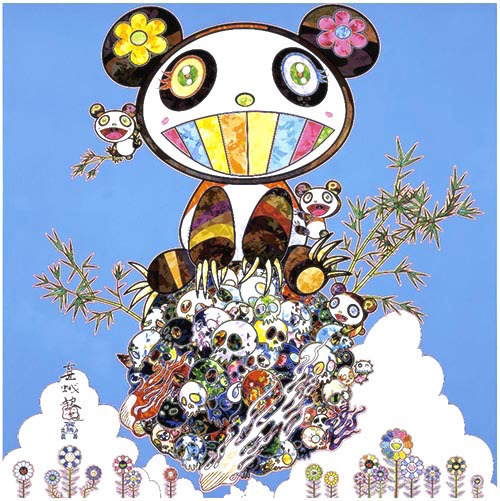 Takashi Murakami, 'Panda Family - Happiness', 2016, Lougher Contemporary