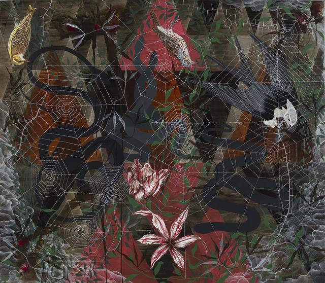 , 'Snakes,' 2017, David Risley Gallery