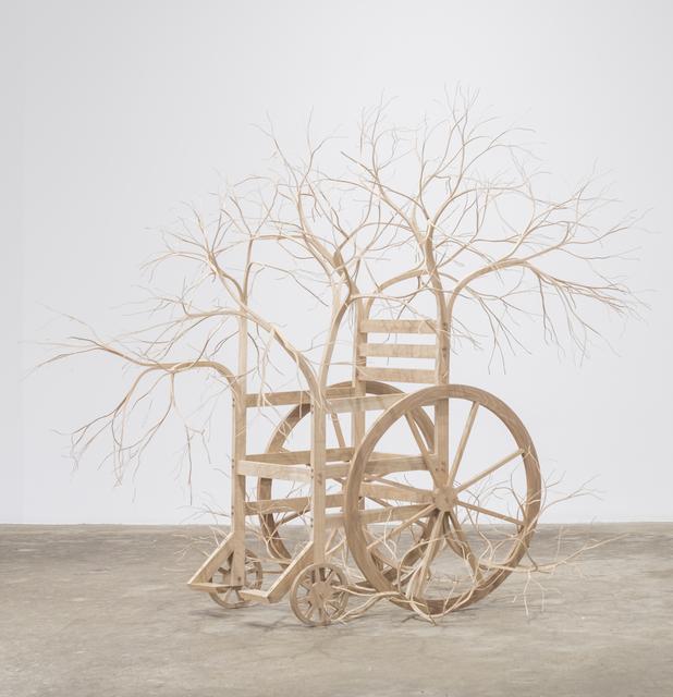 , 'Wheelchair,' 2018, DENK Gallery