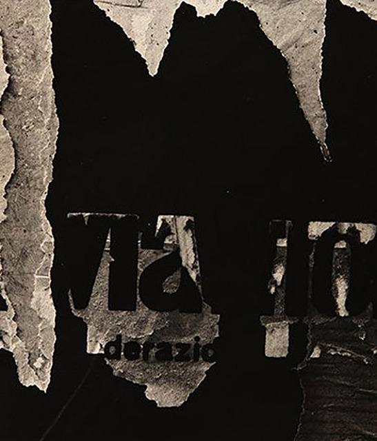 Aaron Siskind, 'Rome 46', 1973, Caviar20