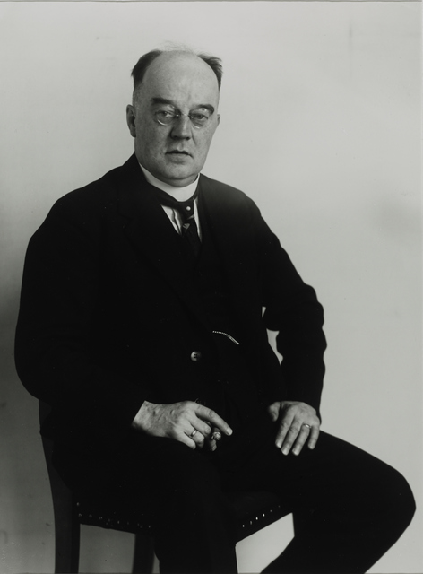 August Sander, 'Senior High School Teacher, 1932', Galerie Julian Sander