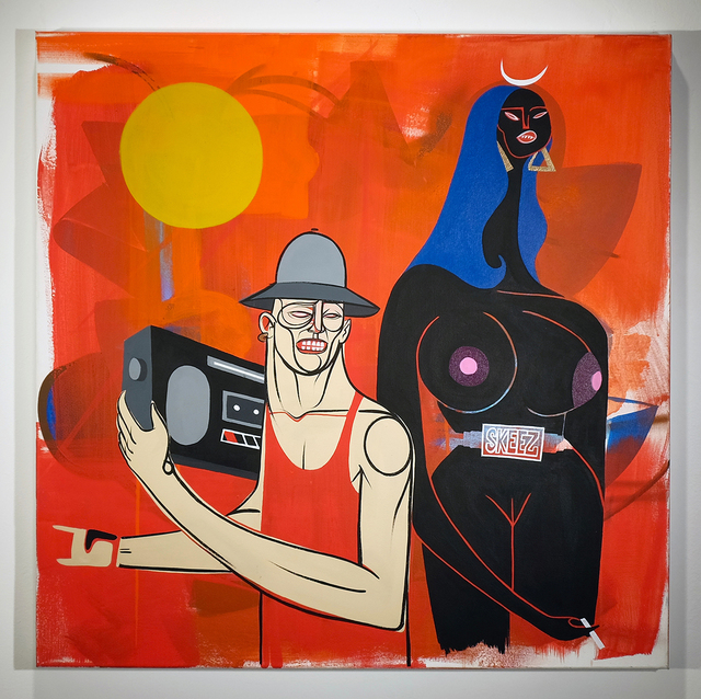 , 'Alive with Pleasure,' 2014, Jonathan LeVine Projects