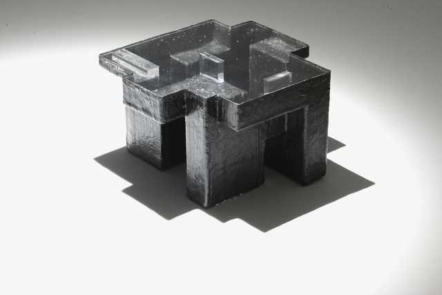 , 'Black Resin Fossil coffee table, medium,' 2011, ammann//gallery