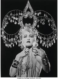 Cyndi Lauper, Headdress, New York