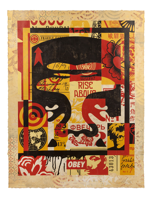 , 'Icon Collage (top),' 2016, Jonathan LeVine Projects