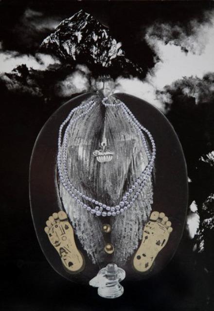 Penny Slinger, 'Coco de Mer', 1976, Photography, Photo collage on board, Richard Saltoun