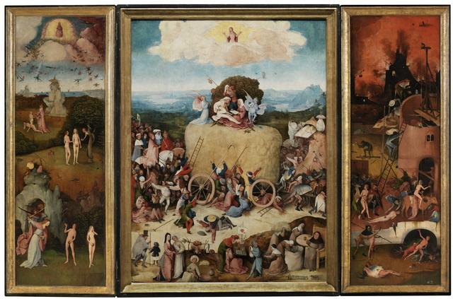 , 'The Haywain,' 1500-1502, Museo Nacional del Prado