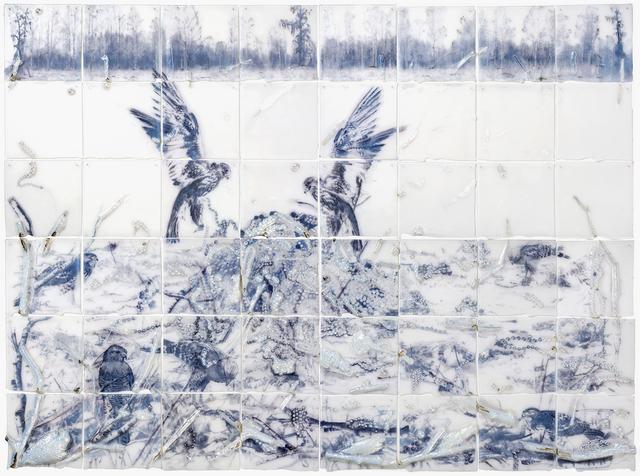 , 'Fields,' 2017, Bullseye Projects