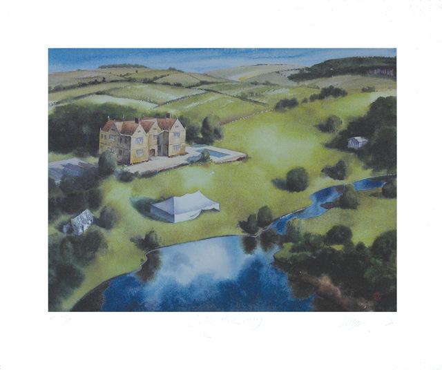 ", '""Four Views of Sidley Park"" to accompany Arcadia byTom Stoppard,' 2001, Arion Press"